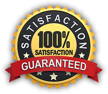 100% satisfaction guaranteed service